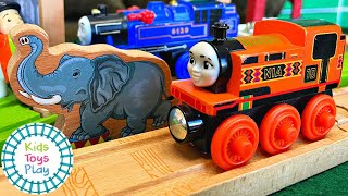 Фото Nia And The Unfriendly Elephant | Thomas And Friends Season 24 Full Episode Parody