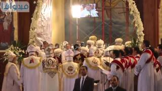 بالفيديو : ترأس البابا تواضروس الثاني قداس عيد القيامة المجيد بالكاتدرائية
