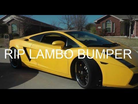 Lamborghini For Rent >> Lowered Lamborghini Gallardo Scraping Out Of Driveway - YouTube