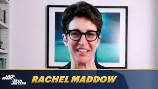 Rachel Maddow Predicts How the Capitol Riots Will Affect Joe Biden's Presidency