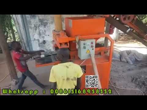 QT2 10 ecological hydraulic press eco brava block machine in Ivory Coast