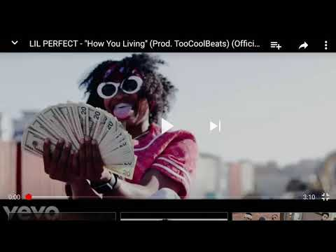 Reacting to LIL Perfect HOW YOU LIVING