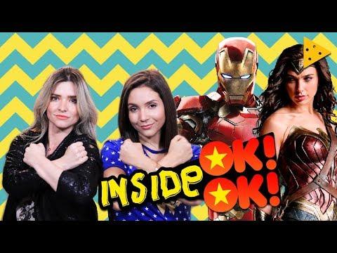 Filmes de Super-heróis: Ranking com Fe Pineda   Inside OK!OK!