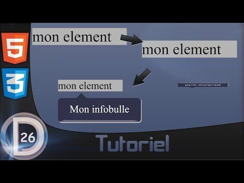 ◄ HTML & CSS | Tutoriel | Infobulle ►