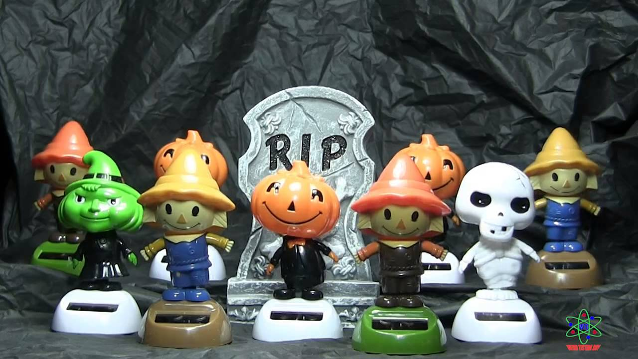 Toys For Halloween : Solar dancing halloween toys youtube