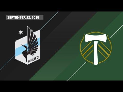 HIGHLIGHTS: Minnesota United FC vs. Portland Timbers   September 22, 2018 thumbnail