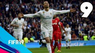 ⚽️CRISTIANO RONALDO está IMPARABLE - CAP 9 - T2 - FIFA 19 MODO CARRERA (REAL MADRID)