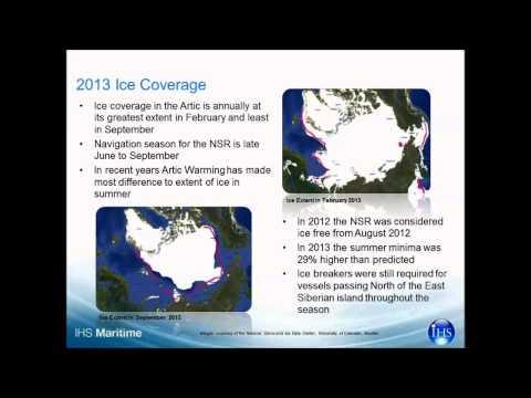 Arctic route webinar
