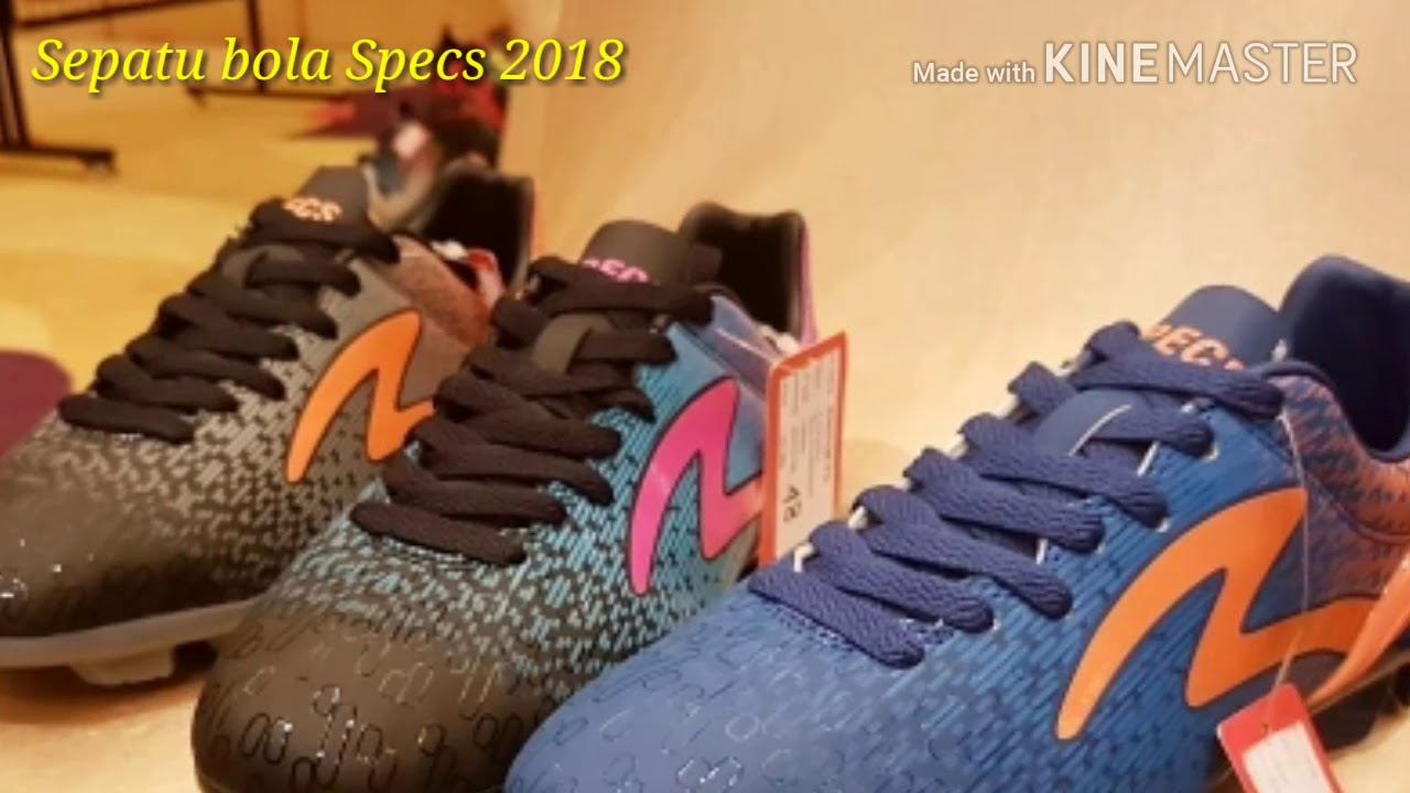 Sepatu Bola Specs 2018 Youtube