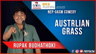 Australian Grass | Nepali Stand-Up Comedy | Rupak Budhathoki | Nep-Gasm Comedy Australia