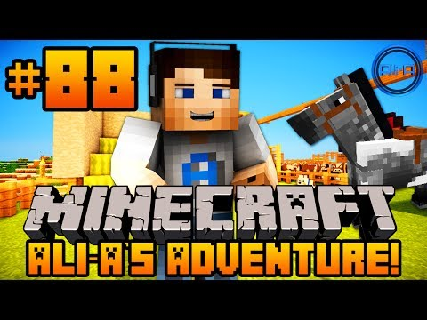 "Minecraft - Ali-A's Adventure #88! - ""NEW PET!"""