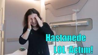 Hastanede Eye Spy Lil Sister Açtım! Ameliyat Öncesi LOL'e Arkadaş! Hastane Oda Turu Bidünya Oyuncak