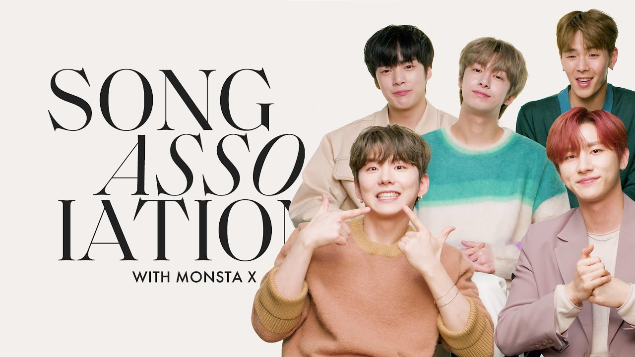 Download MONSTA X Sings James Bay, Beyoncé, 5 Seconds Of Summer In A Game Of Song Association | ELLE