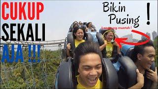 Extreme Roller Coaster (Halilintar) - Dufan - Jakarta