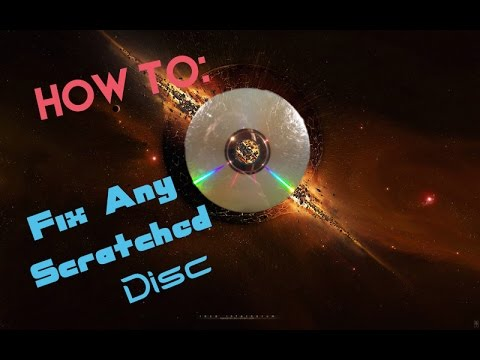 How To Fix A Scratched Disc(works For PlayStation, Xbox, Wii, etc.)