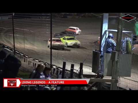 Living Legends Heats/Feature - Wagner Speedway - 9/8/18
