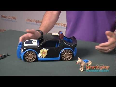 Rescue Heroes: Hero World Voice Comm Police Car From Fisher-Price