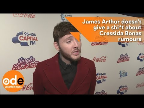 James Arthur doesn't give a sh*t about Cressida Bonas rumours
