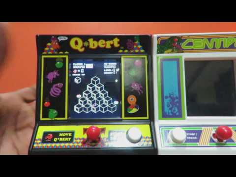 The Bridge Direct Q'Bert & Centipede Mini Arcade Games Review
