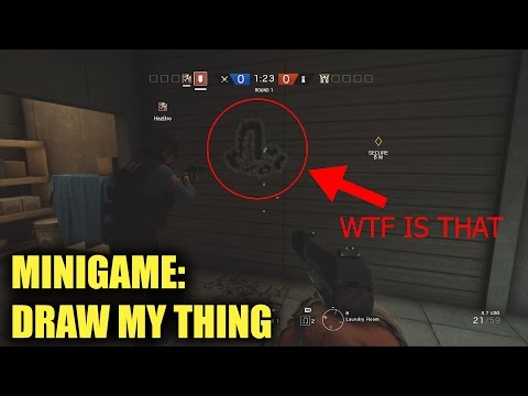 Draw My Thing! (Pictionary) - Rainbow Six Siege (Subscriber Minigame)