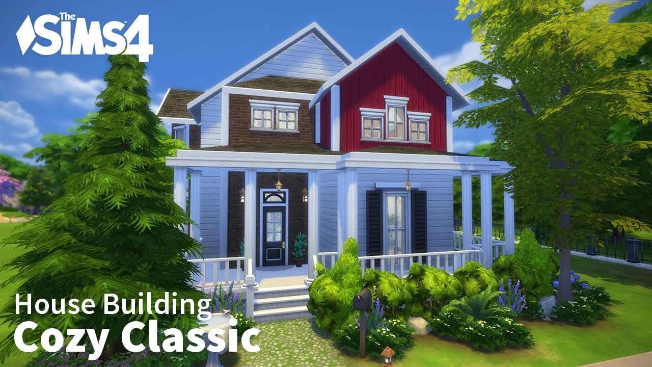 Cozy classic the sims 4 house building youtube for Classic house sims 4