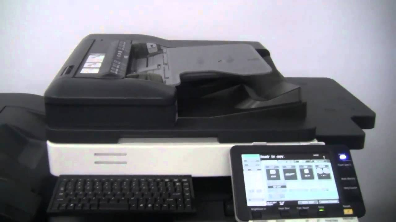 How to prevent and clear paper jam from Konica Minolta bizhub
