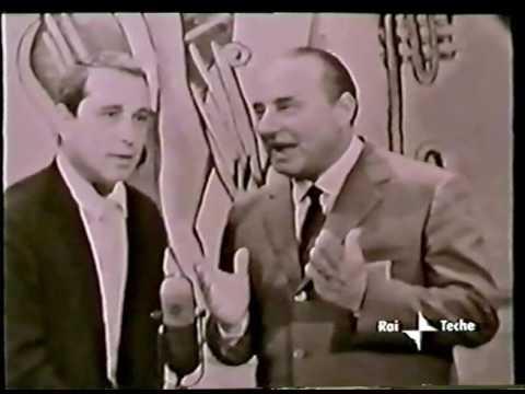 1958 - Perry Como al Musichiere - RAI - Palena, Perry e Mario Riva