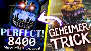 Geheimer Trick + 8000 Highscore! | FNAF Ultimate Custom Night
