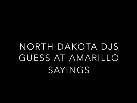People From North Dakota Try To Guess What Amarillo Sayings Mean & It's Hilarious