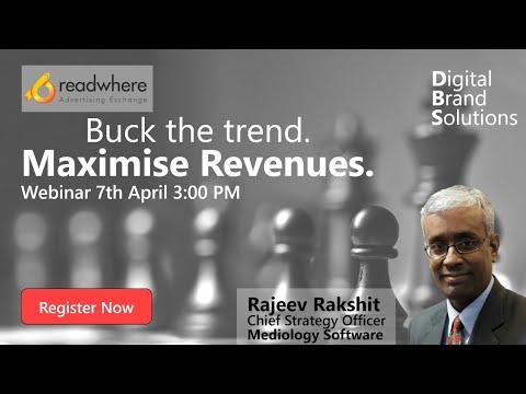 Webinar : Buck the Trend. Maximise Revenues.