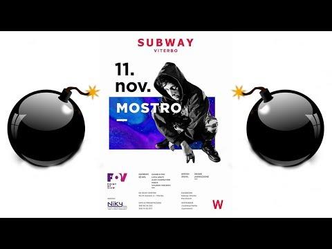 Mostro Live @Subway Viterbo 11/11/17 | Ogni maledetto giorno tour