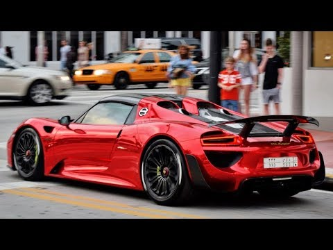 Porsche 918 Spyder 2017 And Most Famous Alpine Pes In Just Five Days Goo Car
