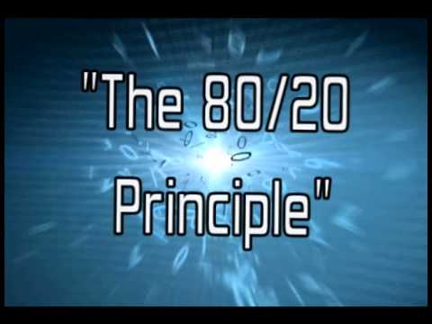 The 80/20 Principle! (How to be more productive)