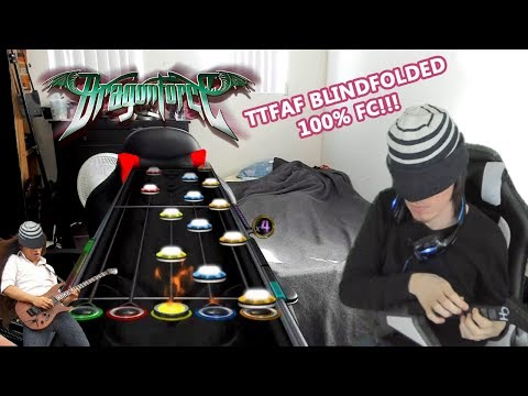 THROUGH THE FIRE AND FLAMES ~ BLINDFOLDED ~ FIRST EVER 100% FC