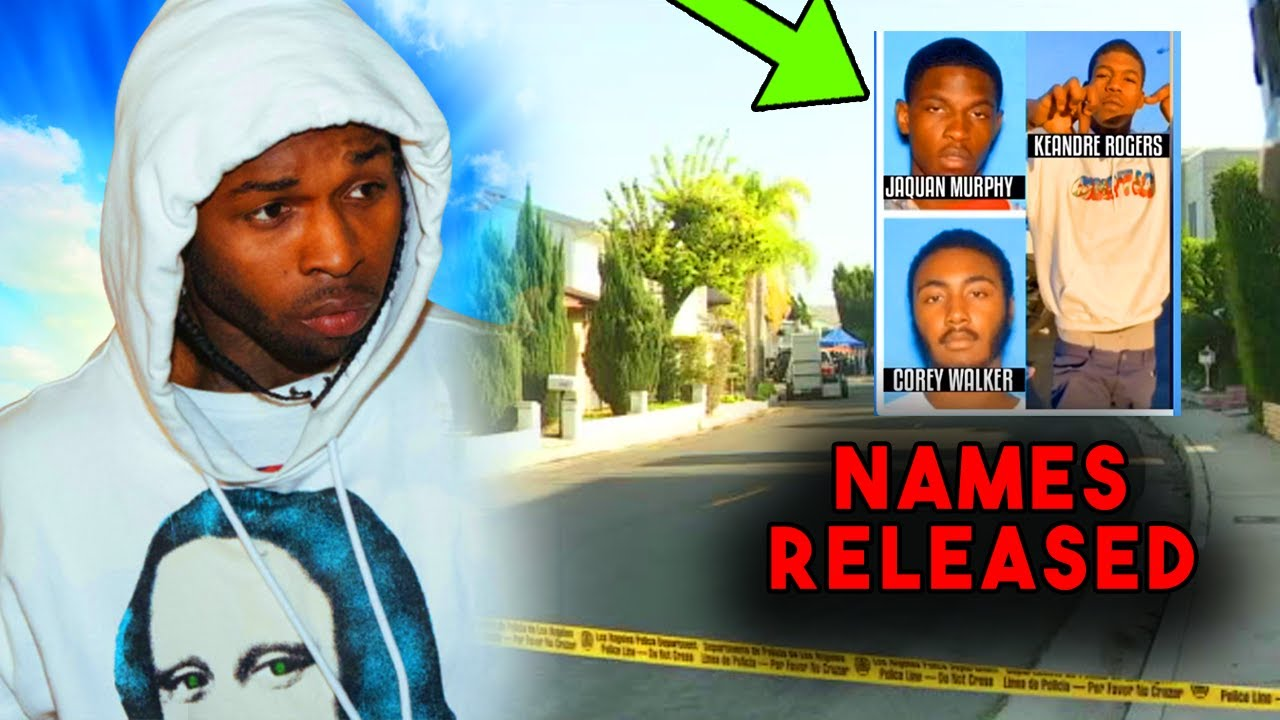 Pop Smoke Update: Names & VIDEO of Suspects Getting ARRESTED!
