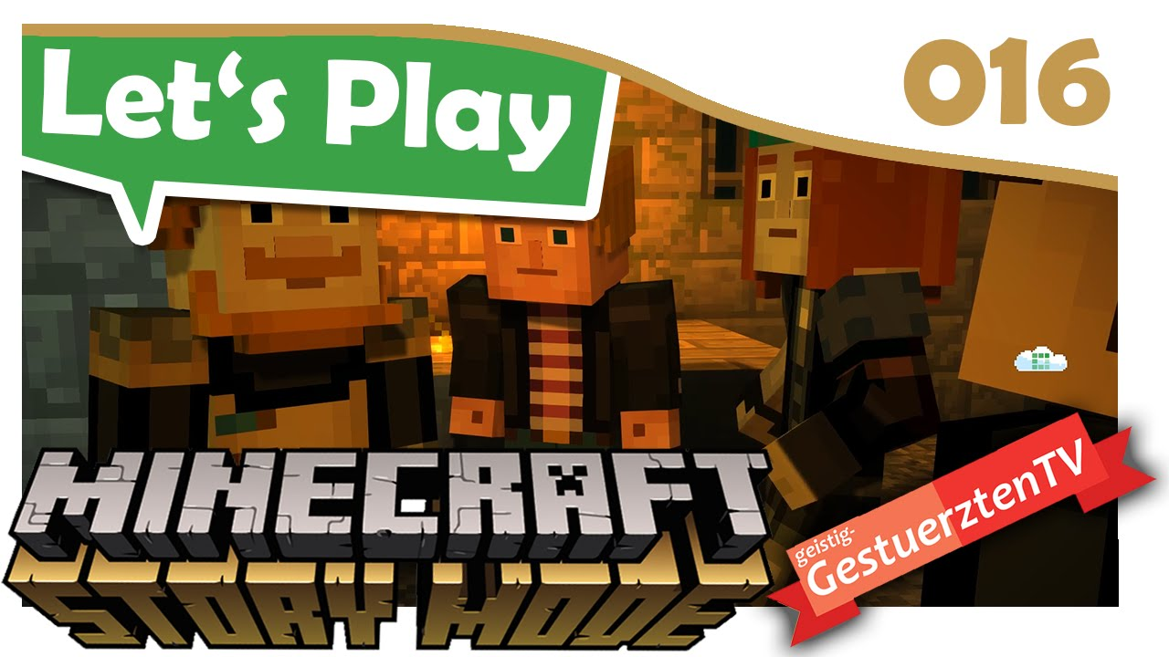 Minecraft Story Mode Das War Knapp Lets Play Minecraft - Minecraft story mode deutsch spielen
