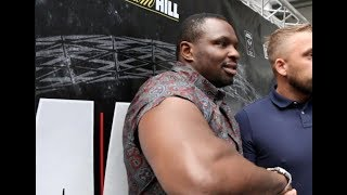 DILLIAN WHYTE - 'TONY BELLEW WILL KNOCK USYK OUT! - DONT WRITE HIM OFF. I KNOW HE FEELS'