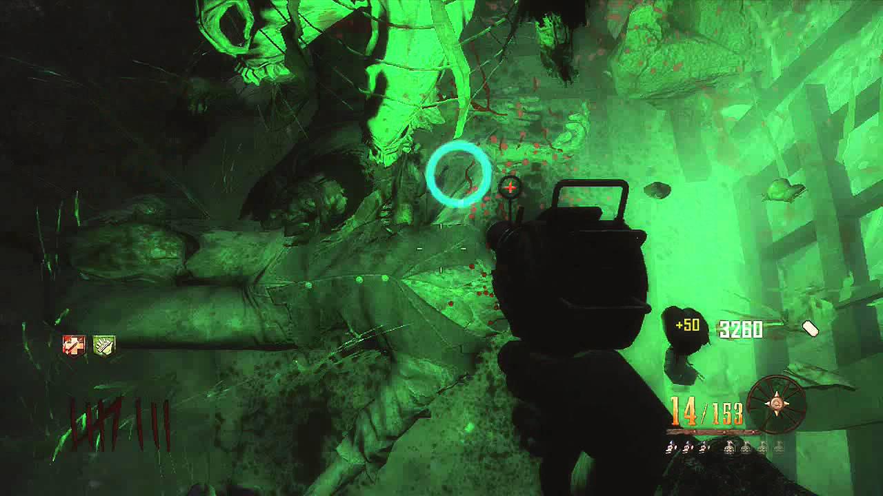 Cod Black Ops 2 Zombies - Buried - Como entrar na casa da bruxa sem wonder weapon e o gigante