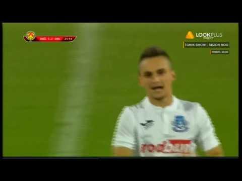 Penalty si gol pentru Dacia Braila, in meciul cu Dinamo din Cupa Romaniei