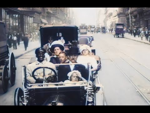 image for Unbelievable Colorized Footage of New York City in 1911
