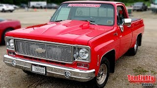 Square Body Chevy Truck  (and it's FAST!)
