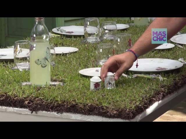Ramiro Arzuaga en Viste tu mesa por MAS CHIC TV: Mesa Greening