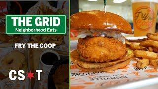 Fry the Coop flies high on the fried chicken sandwich craze