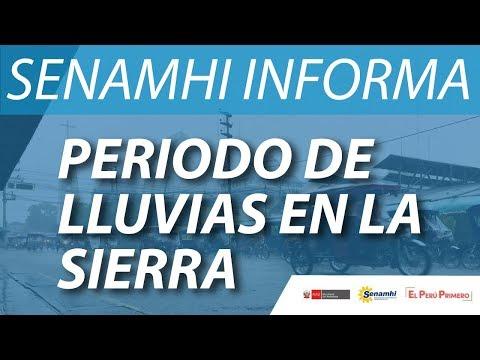 SENAMHI INFORMA - Periodo de Lluvias 2019