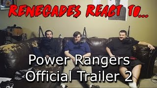 Renegades React to... Power Rangers Official Trailer 2
