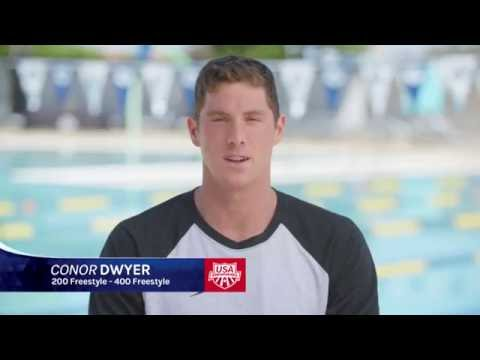 Conor Dwyer - USA Swimming Olympic Team 2016
