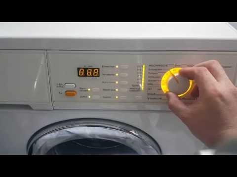 Favorit Miele Waschmaschine Prüfprogramm nutzen und Betriebsstunden XZ78