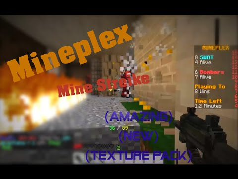 Minestrike (Amazing new Texture pack)