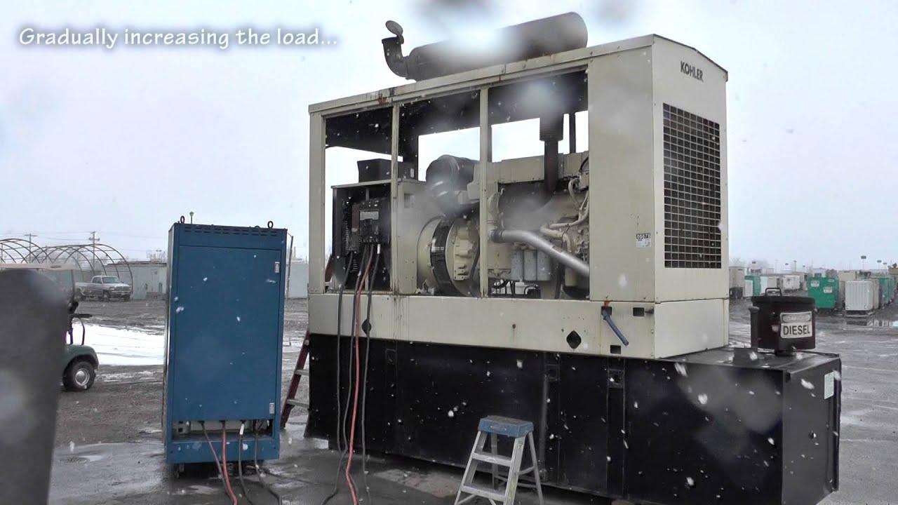 Kohler 300 kW Diesel Generator Standby Used D A65 Unit