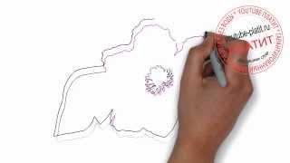 Нарисованные цветы  Как нарисовать фиалку полевую карандашом(Как нарисовать дружную семью поэтапно карандашом за короткий промежуток времени. Видео рассказывает о..., 2014-07-02T05:48:36.000Z)
